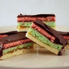 "Rainbow Cookies | ""The combination of flavors is wonderful. They are beautiful cookies and look a lot harder to make than they really are. I will definitely make them again!"""