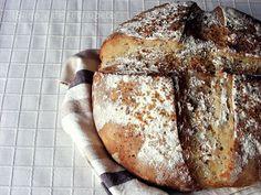 ¡Sano y de rechupete!: Pan con semillas de mostaza y masa madre de millo (maíz)