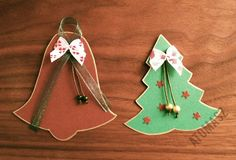 Last Christmas decorations for gift bags (with my handmade preserves)