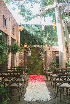 Brides: Wedding Ceremony Aisle Decorations | Wedding Ideas