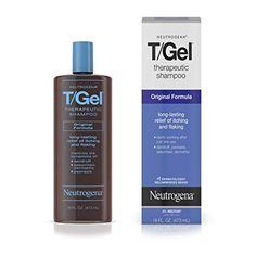Neutrogena T/Gel Therapeutic Shampoo Original Formula, Anti-Dandruff Treatment for Long-Lasting Relief of Itching and Flaking Scalp as a Result of Psoriasis and Seborrheic Dermatitis, 16 fl. Best Shampoo For Psoriasis, Best Anti Dandruff Shampoo, Shampoo For Itchy Scalp, Best Shampoos, Eczema Psoriasis, Neutrogena, Ayurveda, Kerala, Health