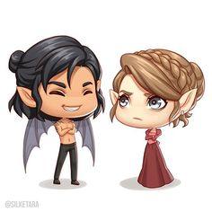 Cassian and Nesta ❤