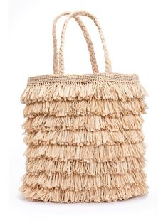 """Spring into 2012 with 10 of this season's best """"It"""" Handbags Fashion Handbags, Fashion Bags, Fashion Accessories, Tory Burch, Crochet Tote, Beach Tote Bags, Knitted Bags, Straw Bag, Purses And Bags"""