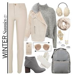 """""""Winter Sunnies Part II"""" by nvoyce ❤ liked on Polyvore featuring Madewell, Designers Remix, TIBI, H&M, Valentino, River Island, Christian Dior, Topshop, Michael Kors and Casetify"""