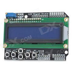 2. LCD Keypad Shield for Arduino Duemilanove & LCD 1602