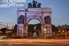 Grand Army Plaza, Prospect Park, Brooklyn, NY, not far from where both my daughters have apartments
