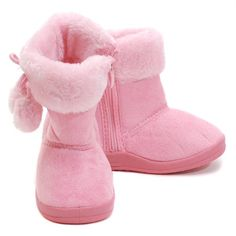 Dooballo Baby Girl 4 Pink Faux Suede Fur Trim Pom Pom Zipper Boot Unknown,http://www.amazon.com/dp/B00F4C2U7K/ref=cm_sw_r_pi_dp_sOavsb0HJK3V7DJH