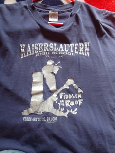Nice looking K-Town shirt if you are a fiddler.