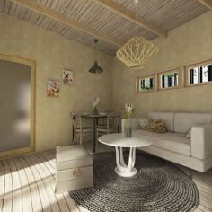 Beibehang American garden flowers and birds green wallpaper wedding room bedroom living room TV background walls wallpaper House Plan With Loft, Small House Plans, Cottage House Plans, Cottage Homes, Building Costs, Shed Design, House Design, A Frame House, Eco Friendly House