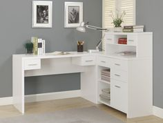 Clarendon Corner Desk With Hutch