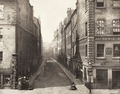 Incredible Photographs Of The Old Closes And Streets Of Glasgow From Between 1868 And 1877