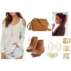 Sem título #825 by clariinhafloor on Polyvore featuring moda, GiGi New York, Lucky Brand, The Limited and Charlotte Russe