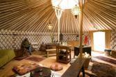 """Slaap in de """"Duinen van Texel"""" in een Yurt!"""
