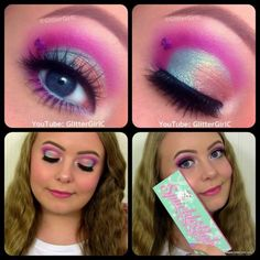 Sugarpill Sparkle Baby Palette Makeup look. Youtube channel: full.sc/SK3bIA