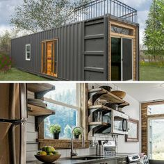 Turns out the company who built this stunner, Minimalist Homes, also built two other shipping container homes as well. Today I am sharing with you ...
