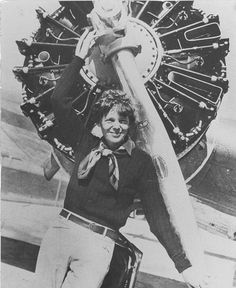 Amelia Earhart -- A person who inspires me to follow my dreams even when people tell me I can't do it.