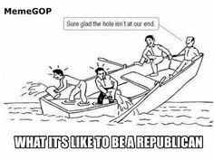 What it's like to be a Republican.