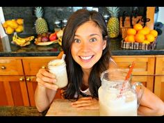 AGUA DE HORCHATA! (Raw Vegan Mexican Style) - YouTube