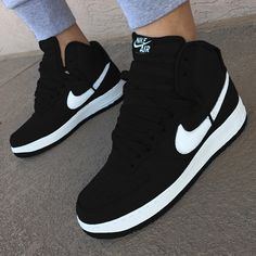 huge selection of 34503 82a3e Nike Air Force #Sneakers Air Jordan Sneakers, Black Shoes Sneakers, Nike  Casual Shoes