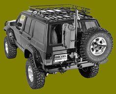 Jeep Cherokee Roof Rack / Safari/ Wilderness.