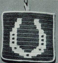 Horseshoe Potholder | Free Crochet Patterns
