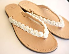Wedding leather sandals Greek leather sandals by dadahandmade, €34.00