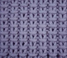 Cast On an odd number of stitches. Row (wrong side) repeat * t… Cast On an odd number of stitches. Row (wrong side) repeat * to * to end. Row (purl wise), repeat * to * to end. These 2 rows form the pattern. by lesa Knitting Stiches, Loom Knitting, Free Knitting, Crochet Stitches, Types Of Knitting Stitches, Stitch Patterns, Knitting Patterns, Crochet Patterns, Knit Or Crochet
