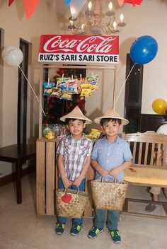 A fun-filled Filipino Fiesta inspired party for boys Fiesta Theme Party, Party Themes, Filipino, Paskong Pinoy, Bahay Kubo, Debut Ideas, Fiesta Decorations, 65th Birthday, First Birthdays