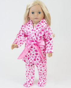 3ae7aa845c Amazon.com  18 Inch Doll Clothes with Hearts by Sophia s
