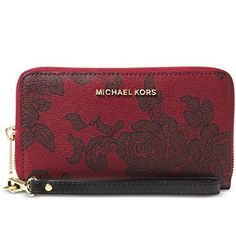 Trending Wristlets Michael Kors Jet Set Travel Phone Case BLACK
