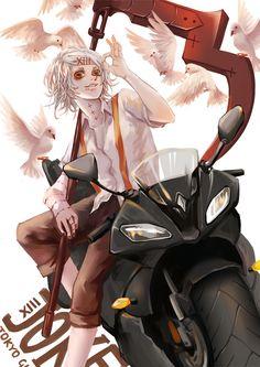 Suzuya Juuzou - Tokyo Ghoul... juuzou is my favourite person in the ccg <3