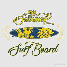 'surf board' by Chris olivier Surf Board, Long Hoodie, Laptop Sleeves, Chiffon Tops, V Neck T Shirt, Surfing, Classic T Shirts, Artists, T Shirts For Women