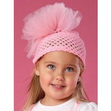 Tiny Dancer Tulle Poof Hat