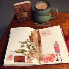 """15 Likes, 1 Comments - Belle (@bellelovespaper) on Instagram: """"Another morning, another cup of tea, and another page in my journal. I like the way this one came…"""""""