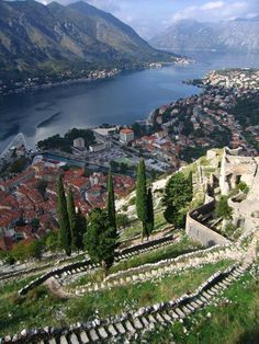 ...to Kotor, Montenegro. Vertical fortress, tough hike, a glimpse of the local spirit.