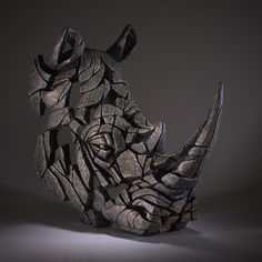 MATT BUCKLEY * UK * http://www.edgesculpture.com/ ** sculpture ~ rhinos