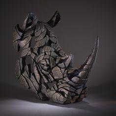 MATT BUCKLEY * UK * http://www.edgesculpture.com/ ** sculpture ~ rhinos