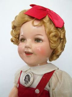 Not an SK doll but an all original and original condition Ideal Shirley Temple - best example