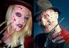 Halloween FOTD: Freddy Kruegerl