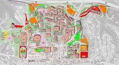 sdsu campus map 2015 1108 Best San Diego California Usa Images In 2020 San Diego
