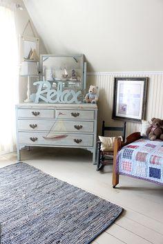 kids' Nantucket bedroom or nursery