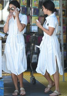 Vanessa Hudgens goes to Bed, Bath and Beyond and Whole Foods in Los Angeles on July 16, 2016