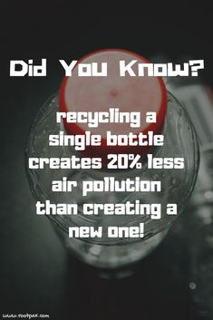 Recycling Fun Facts - A little can go a long way. Save the planet, save the environment, save our oceans, recycling fun f - Save Planet Earth, Save Our Earth, Our Planet, Save The Planet, Good To Know, Did You Know, Ayurveda, Acupuncture, Save Environment