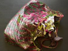 Noken Papua Ethnic Bag - Small Size by MalaccaMerchant on Etsy