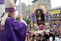 """""""Todo el Perú te quiere, Señor de los Milagros"""", dice el Cardenal Cipriani"""