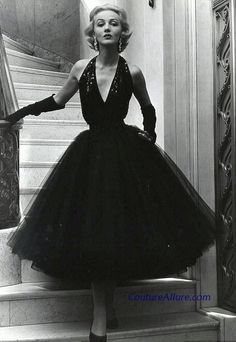 Normal Norell, 1951. From Couture Allure Vintage Fashion