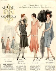 1927 McCall Quarterly Fashions