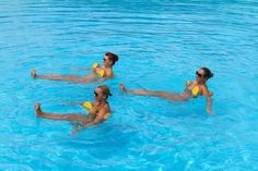 Deep Water Aerobic Routines