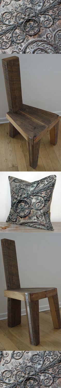 www.etsy.com/ca/shop/CAYOCOCOCUSHIONS www.etsy.com/ca/shop/TicinoDesign Reclaimed Wood Furniture, Printed Cotton, Cushions, Interior, Table, Etsy, Shopping, Design, Home Decor