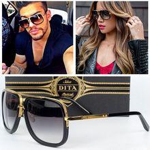 Nuevo estilo De la marca lente gradiente Gafas De Sol hombres mujeres Brand Design Gafas De Sol Vintage Classic Retro Gafas De Sol Gafas(China (Mainland))